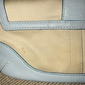 Coach Bags - Authentic Coach Blue Wristlet-Wallet